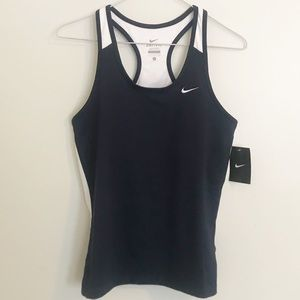 Nike NWT navy workout/ running tank